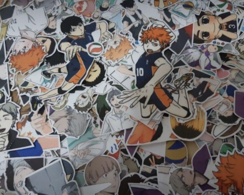 Haikyuu Stickers Haikyuu Sticker Cutouts Hinata Kageyama Oikawa Kuroo Kenma Suga