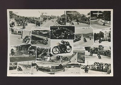 IOM Isle of Man TT Motorcycle Races M/view RP PPC Photonia Series