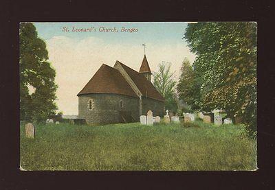 Herts Hertfordshire BENGEO St Leonard's Church religion 1912 PPC