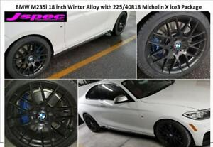 BMW M235i M225i M240 18 inch winter alloy n tire package From $1050 all in