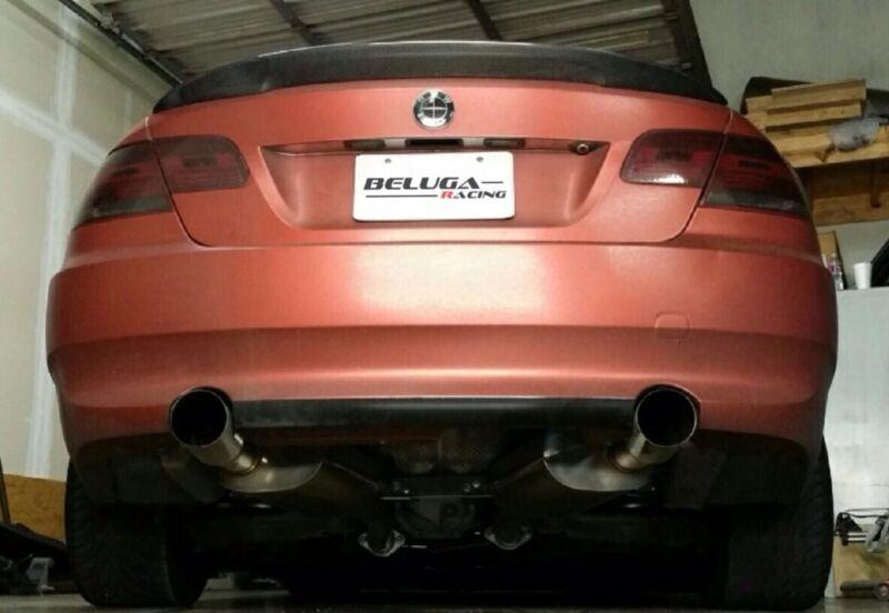 Beluga Racing Bmw E90 E92 335i Twin Turbo Dual Catback Exhaust 3.0l I6 N54