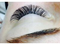 3D Russian Eyelash Extensions.
