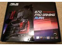 Asus 970 pro gaming aura motherboard +cpu bundle