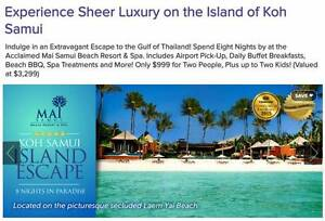 Thailand Koh Samui 8 Night Holiday only $800 for 2 people Cromer Manly Area Preview