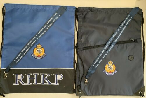 Gym pack #1A - Set of 4 pcs Gym Pack w/Royal Hong Kong Police badge & neckstrap