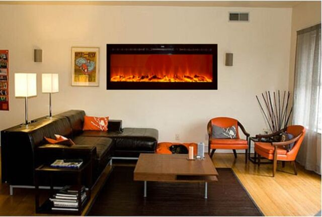 Touchstone 80004 The Sideline Recessed Electric Fireplace | eBay