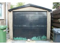 Single Prefab Garage~Concrete Sectional Pre-Fabricated Fab Building Shed Used