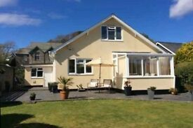 4 Bed Detached Dorma Bungalow, Nr Portmerion North Wales