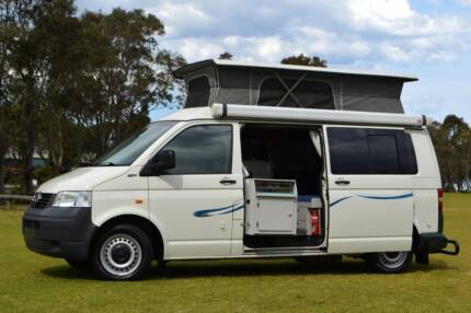 Volkswagen Frontline Campervan with Twin bed layout Albion Park Rail Shellharbour Area Preview