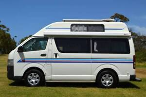 Toyota Hiace Hi Top Automatic Campervan Packed with Features!