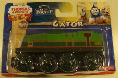 Thomas & Friends Wooden Railway ~Gator~..Tale of the Brave..BRAND NEW..BDG06..