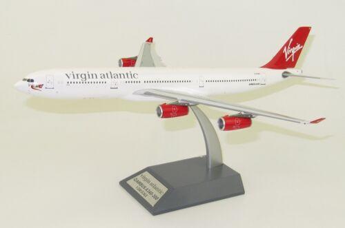 Inflight B-340-1118 Virgin Atlantic A340-300 Diana G-VFAR Diecast 1/200 Model