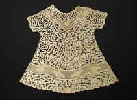 Fiorettiartedesign900 Pizzo Cantù Merletto Tombolo Abito Battesimo Handmade Lace -  - ebay.it