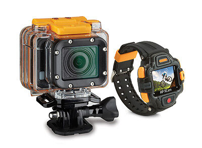 HP Ac300w Action Cam Video Camera Full HD 1080p with Live View Remote WATCH