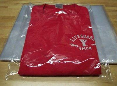 300 9 X 12 Clear Poly T- Shirt Plastic Apparel Bags 2 Flap Best Quality