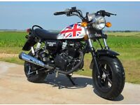 *Brand New* WK Tomcat 125. Road Legal mini-bike (Like Honda MSX125) Free delivery. Warranty