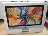 IMac 27 5k 2017 fully boxed as new