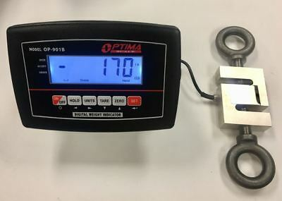 10000 Lb X 1lb Crane Scale Hanging Industrial Scale Load Cell Calibrated