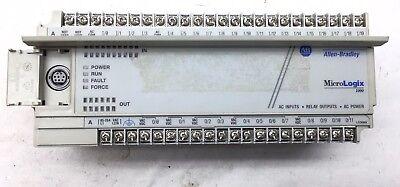 Read Allen Bradley 1761-l32awa Ser E Frn 1 Micrologix 1000 Plc Outputs 3 4 Bad