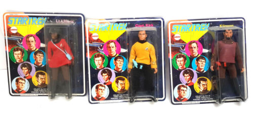 "1975 Star Trek MEGO 8"" Action Figure Collection- Case Fresh- Your Choice"
