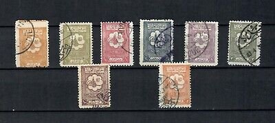SAUDI ARABIA MIDDLE EAST  COLLECTION USED  POSTAGE DUE  STAMPS LOT (SAU 111)