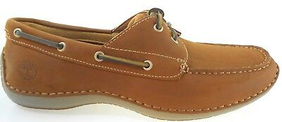 TIMBERLAND 74017 ANNAPOLIS 2 EYE MOC TOE MEN'S LEATHER BOAT SHOES  Eye Moc