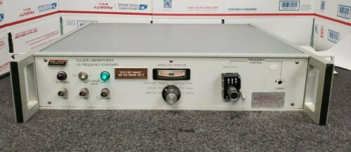 Tracor Sulzer Laboratories Frequency Standard, Model 5D   #X1