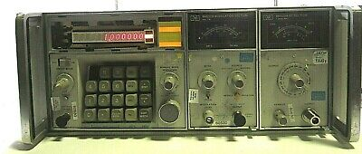Hp Signal Generator 86632b Modulation Section And 86603a Rf- Free Shipping