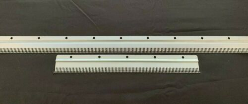 SILVER REED KNITTING MACHINE RIBBER 2PC  STANDARD GAUGE 4.5MM CAST ON COMB SET