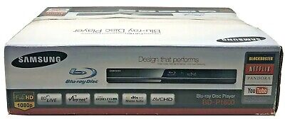 Samsung BD-P1600 Blu-ray Disc Player w/ Remote HDMI Component Pre-Owned EUC