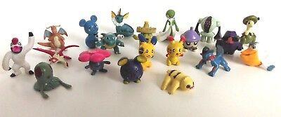 POKEMON 20 Pieces Pokemon Go Figures Small Mini Micro Figures Set - Set 19