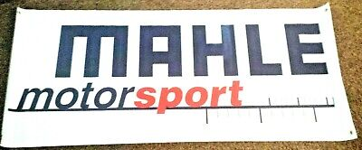 MAHLE MOTORSPORTS RACING BANNER SIGN FLAG 24X60