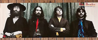 Beatles Photograph SUBWAY POSTER Ethan A. Russell HEY JUDE Over 6 FEET WIDE RARE