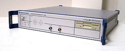 Rohde Schwarz Amiq02 Iq Modulation Generator - Dual Channel With Cdmaone