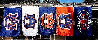 University Auburn Tigers 3X5 NCAA UA Sports Flag Football Banner