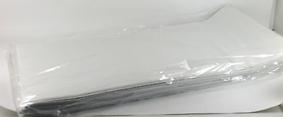 White Paper Disposable Table Covers x 25 Table Cloths 90cm Party Catering