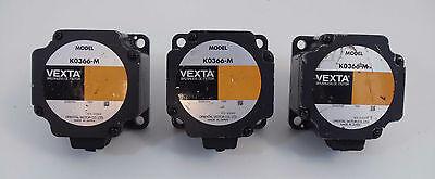 Lot Of 3 Used Vexta Brushless Dc Motors K0366-m 3000rmin 75w Motor Wrs