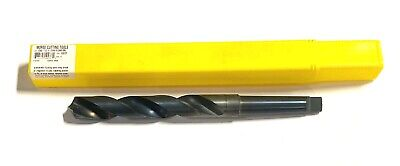 Morse 1-764 Taper Shank Drill Hss 118 Point Black Morse Taper No.3. Usa Made