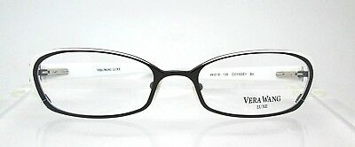 Vera Wang Odyssey BK 49-18 Eyeglass Optical Frames Glasses Womens Eyewear New