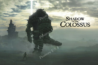 Rgc Huge Poster   Shadow Of The Colossus Hd Remake Ps4   Oth720