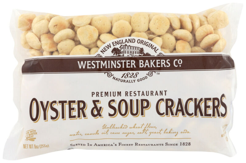 Westminster Cracker Co Oyster & Soup Crackers  (Pack of 12, 9 OZ Bags)