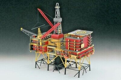 Revell > Oil Rig North Cormorant 1:200 Scale [08803]