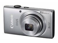 New Cannon IXUS 132 Digital Compact Camera Silver 16Mp Was: £99.99