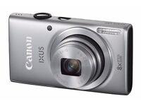 New Cannon IXUS 132 Digital Compact Camera Silver 16Mp Was: £99.99