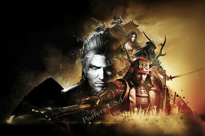 RGC Huge Poster - Nioh William PS4 - (William Huges)