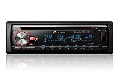 Pioneer DEH-X7800BHS 1-DIN Car Stereo In-Dash Bluetooth CD Receiver w/ HD Radio