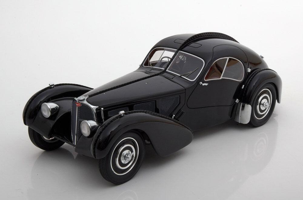Bugatti Atlantic Type 57 SC 1938 hellblau Modellauto 1:18 Solido