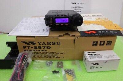 New Yaesu FT-857D Amateur Radio HF VHF UHF All Mode 100w EMS Free