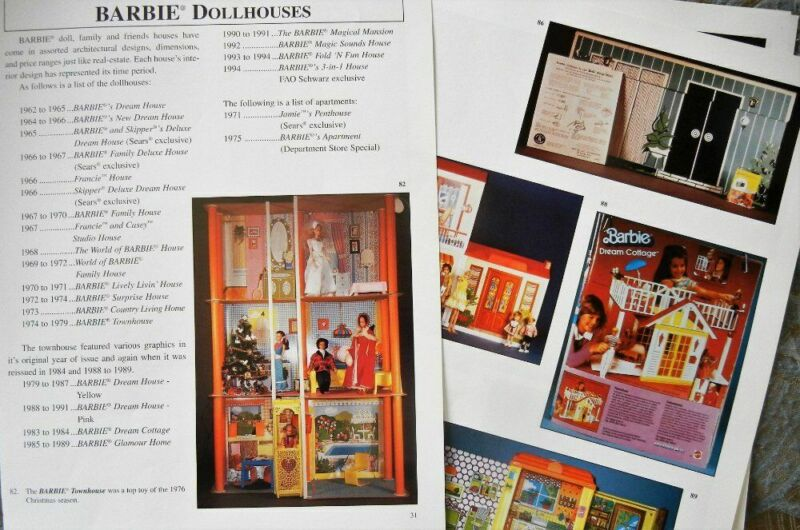 10p History Article & Pics - VTG Mattel Barbie Doll Houses & Furniture