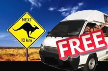 FREE CAMPERVAN RENTAL, RELOCATION AND RIDE SHARE - AUSTRALIA Darwin CBD Darwin City Preview